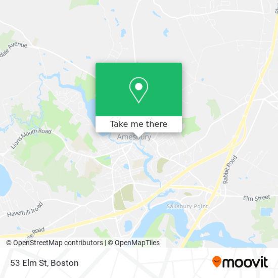 Mapa de 53 Elm St
