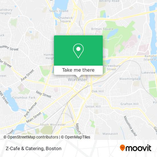 Mapa de Z-Cafe & Catering
