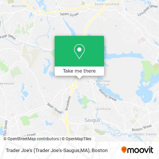 Mapa de Trader Joe's (Trader Joe's-Saugus,MA)
