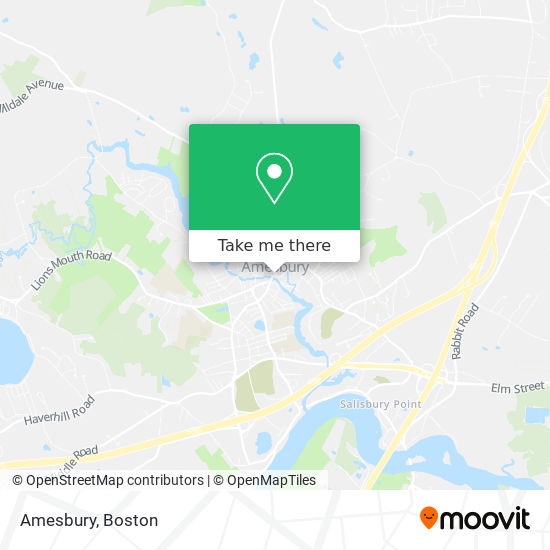 Mapa de Amesbury
