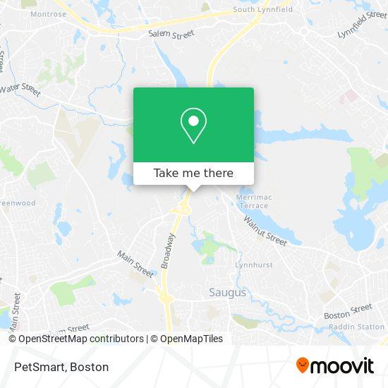 Mapa de PetSmart