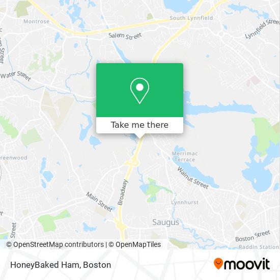 Mapa de HoneyBaked Ham