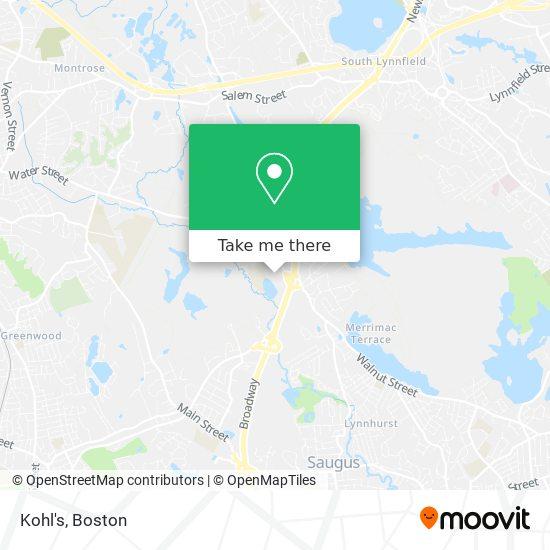 Mapa de Kohl's