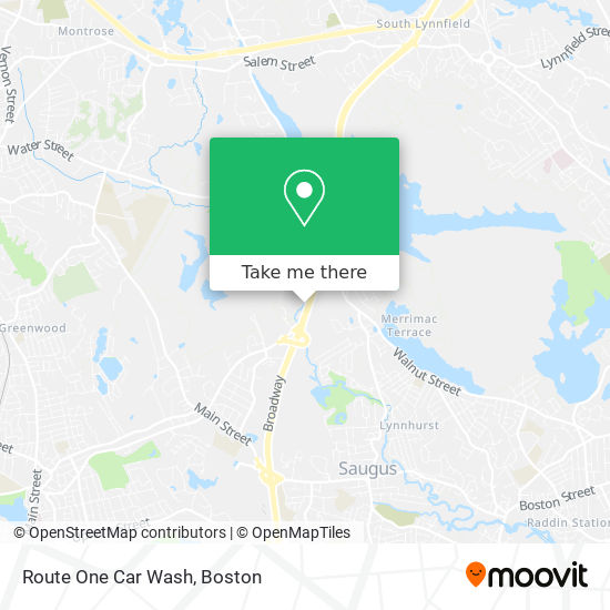 Route One Car Wash地图