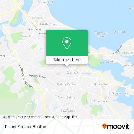 How To Get To Planet Fitness In Quincy By Bus Subway Or Train Moovit