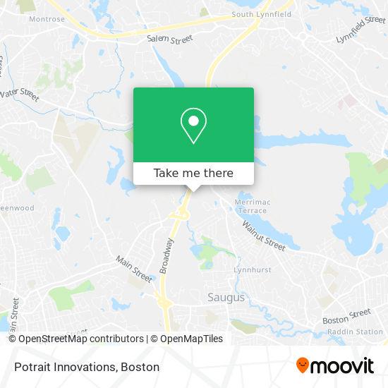 Mapa de Potrait Innovations