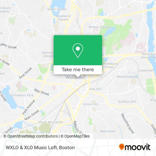 Mapa de WXLO & XLO Music Loft