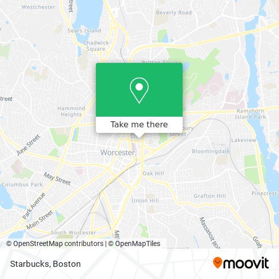 Mapa de Starbucks