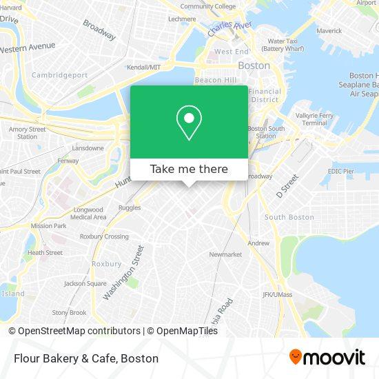 Mapa de Flour Bakery & Cafe