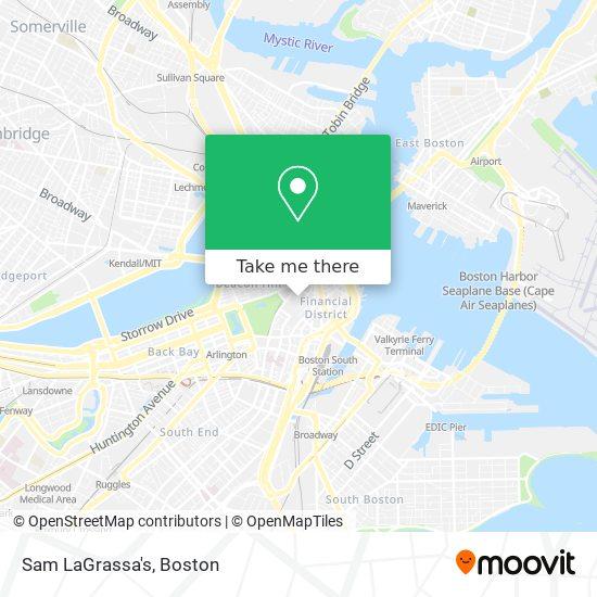 Mapa de Sam LaGrassa's