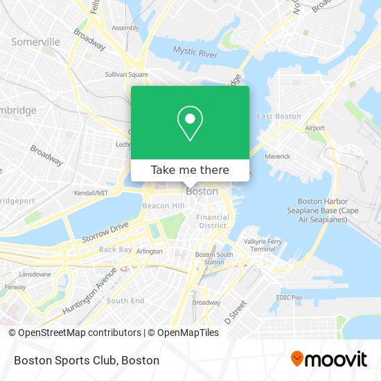 Mapa de Boston Sports Club