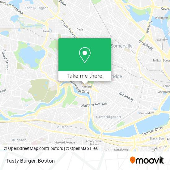Tasty Burger地图