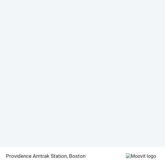 Mapa de Providence Amtrak Station