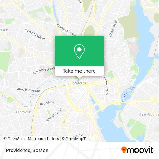Mapa de Providence