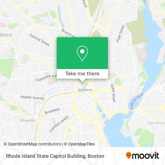 Mapa de Rhode Island State Capitol Building