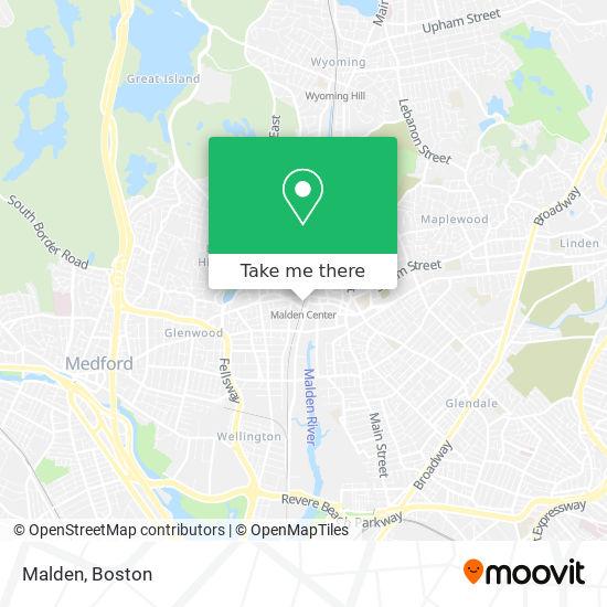 Mapa de Malden