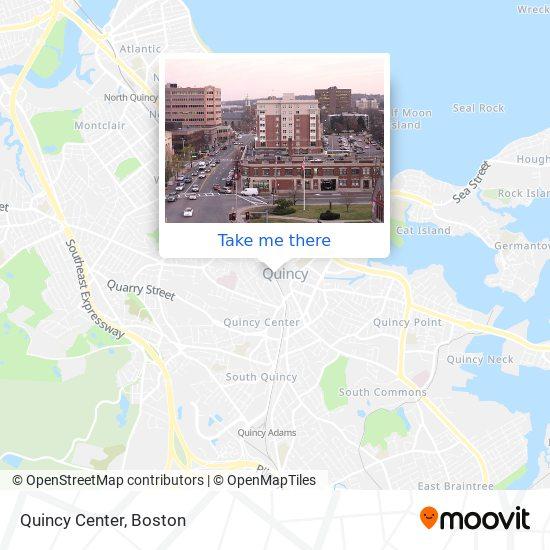 Mapa de Quincy Center
