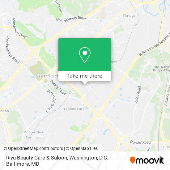 Mapa de Riya Beauty Care & Saloon