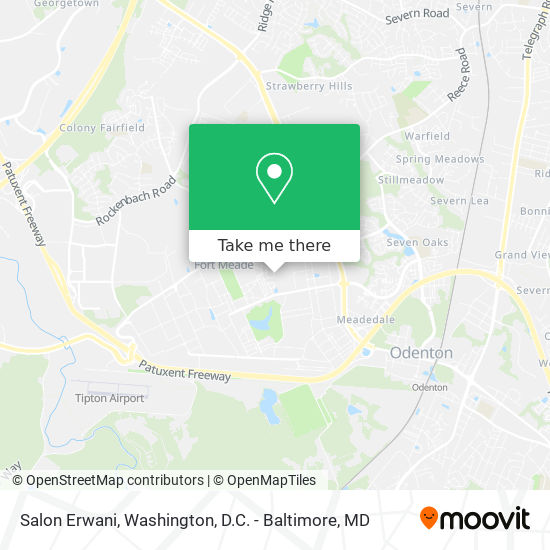 Mapa de Salon Erwani