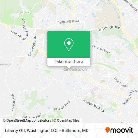 Mapa de Liberty Off