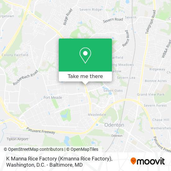 Mapa de K Manna Rice Factory (Kmanna Rice Factory)