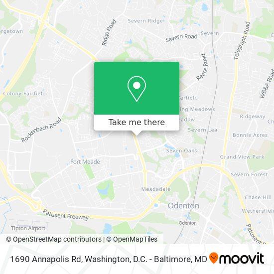 Mapa de 1690 Annapolis Rd