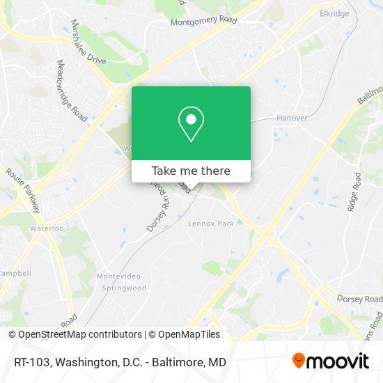 Mapa de RT-103