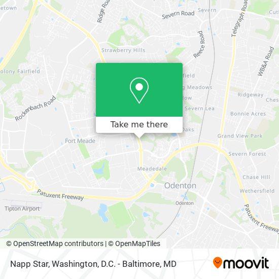 Mapa de Napp Star