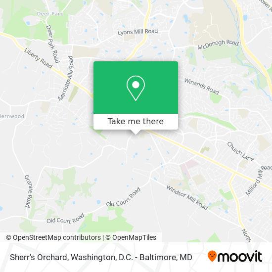 Mapa de Sherr's Orchard