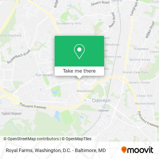 Mapa de Royal Farms