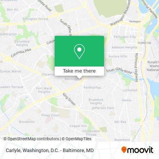 Mapa de Carlyle