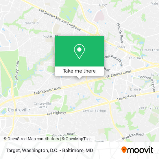 Mapa de Target