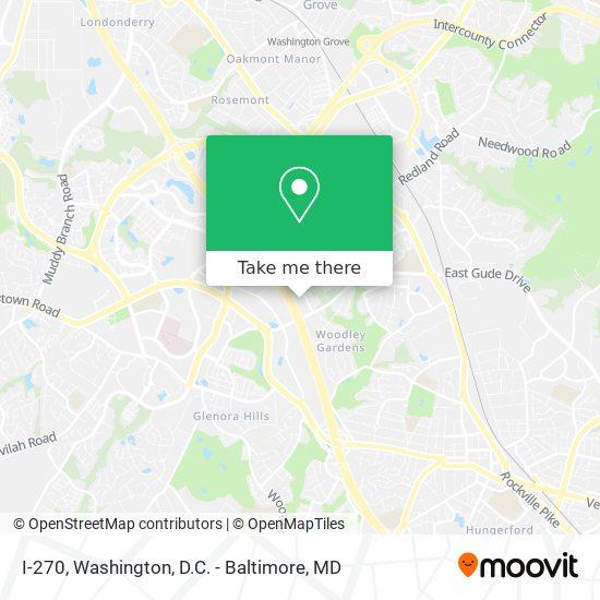 Mapa de I-270