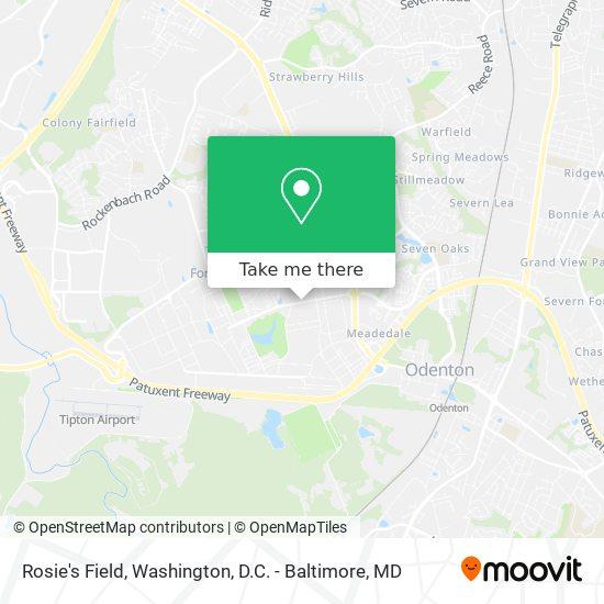 Mapa de Rosie's Field