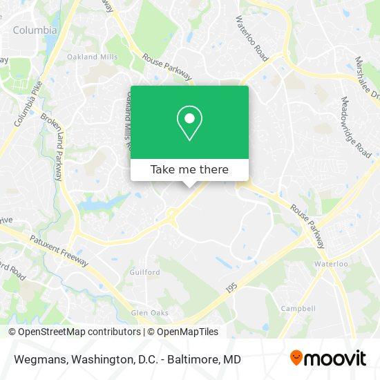 Mapa de Wegmans
