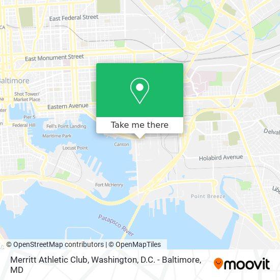 Mapa de Merritt Athletic Club