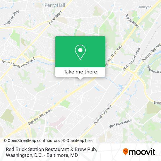 Mapa de Red Brick Station Restaurant & Brew Pub