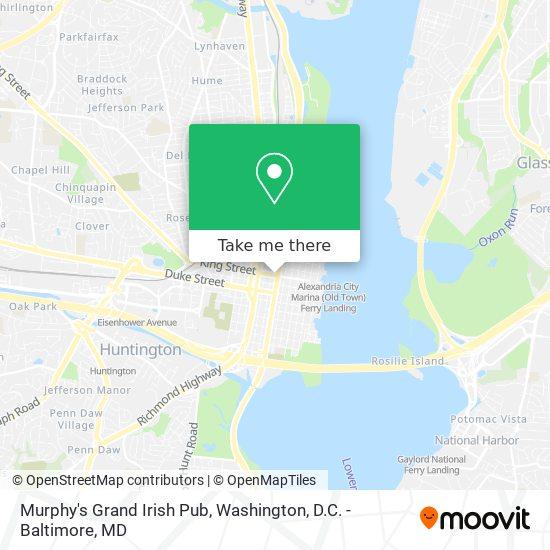 Mapa de Murphy's Grand Irish Pub