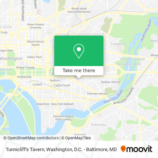 Mapa de Tunnicliff's Tavern