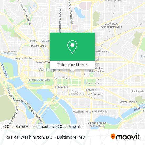 Mapa de Rasika