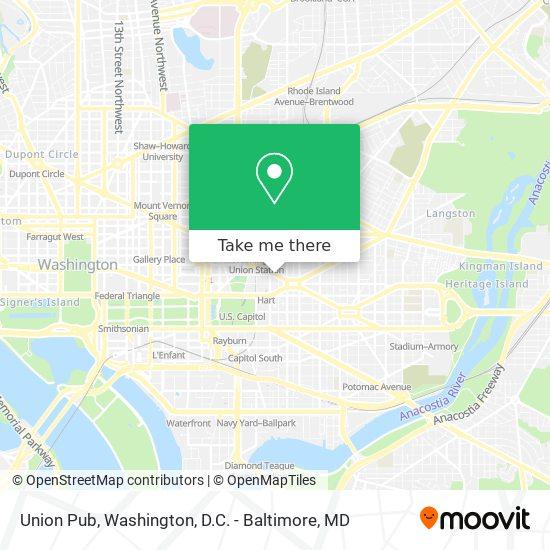 Mapa de Union Pub