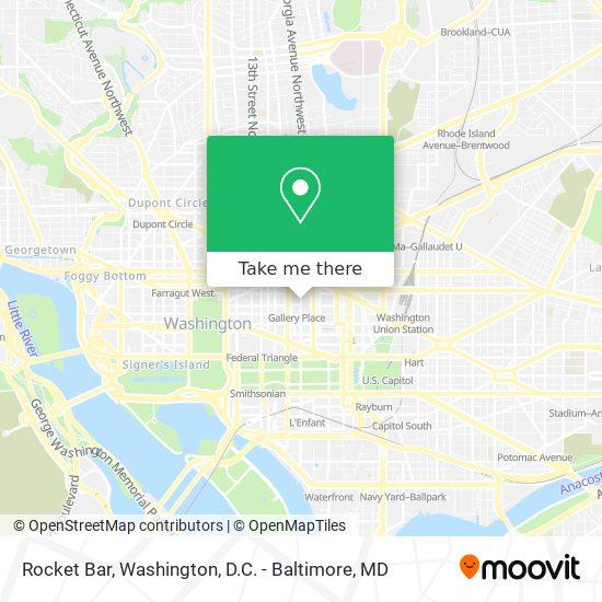 Mapa de Rocket Bar