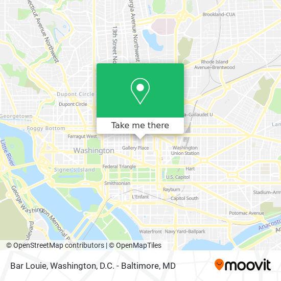 Mapa de Bar Louie