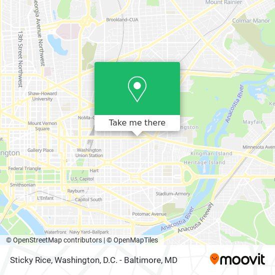 Mapa de Sticky Rice