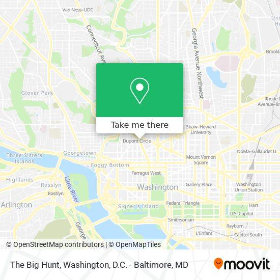 Mapa de The Big Hunt