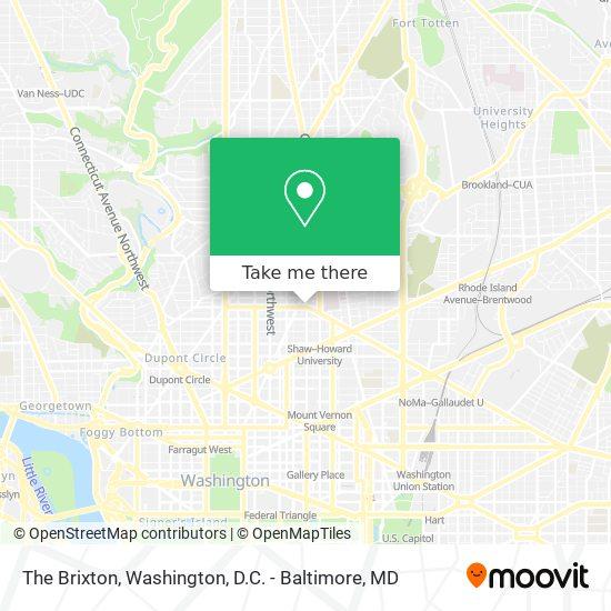 Mapa de The Brixton