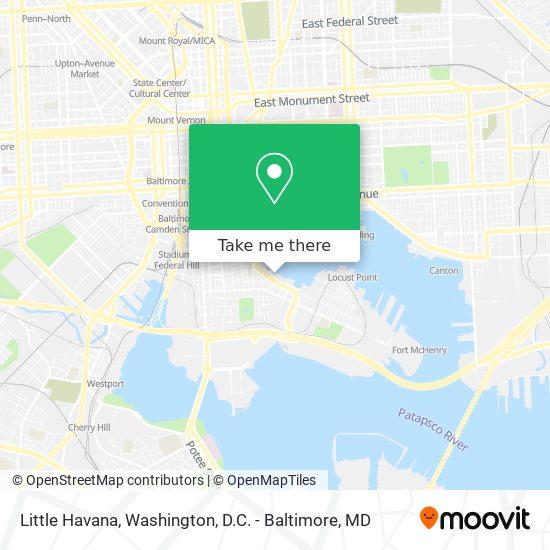 Mapa de Little Havana