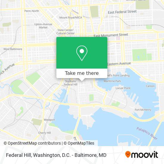 Mapa de Federal Hill