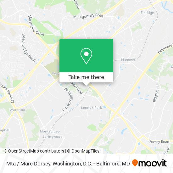 Mapa de Mta / Marc Dorsey