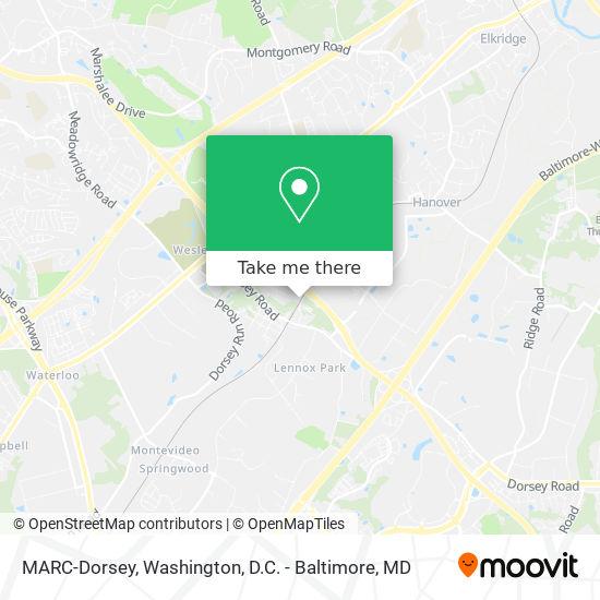 MARC-Dorsey map